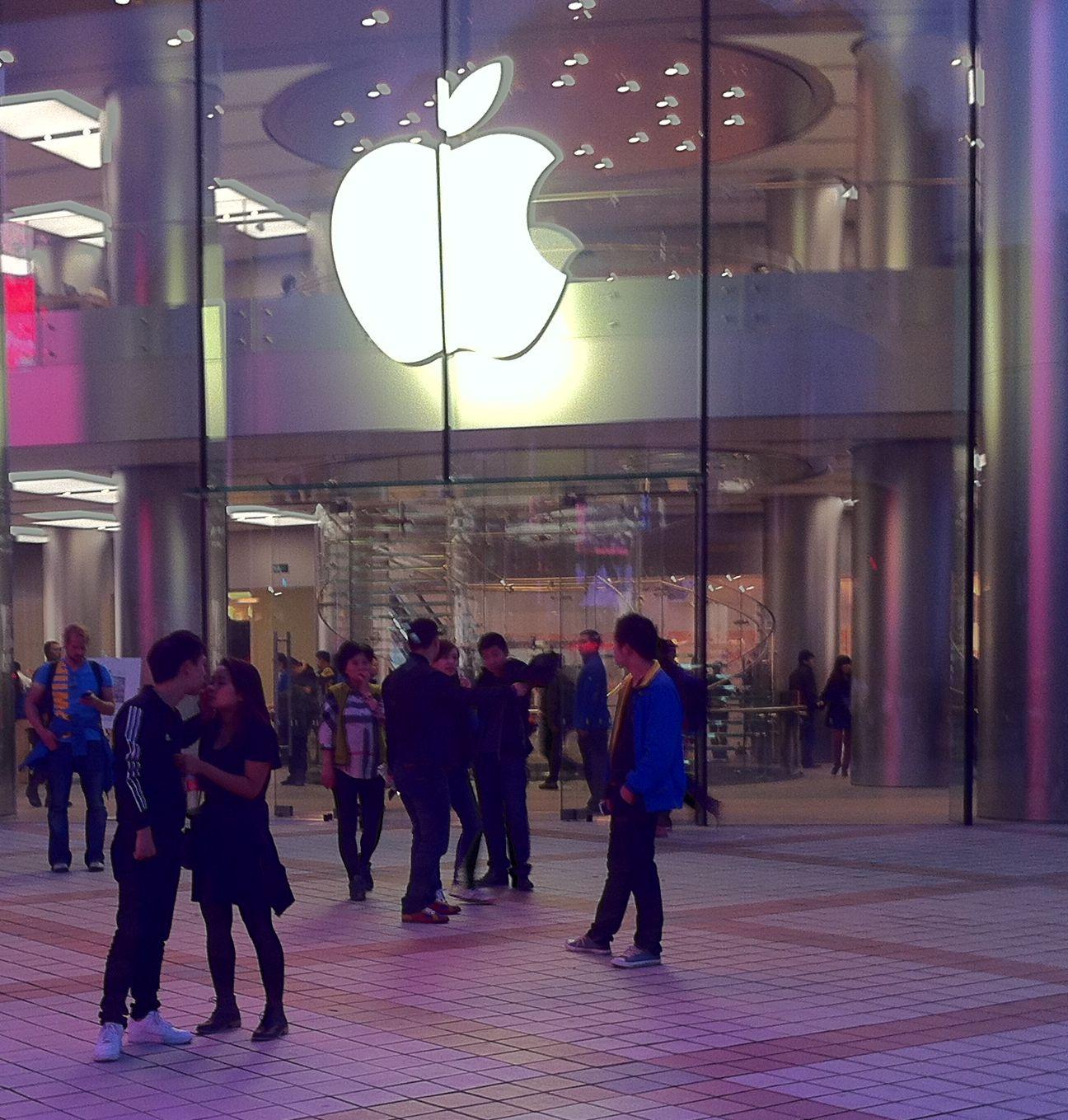 Vor kurzem hat Apple seinen größten Laden Asiens in Peking eröffnet. Wer hier ein iPhone kauft, darf nicht auf Siris Hilfe bei der Suche nach Sex hoffen