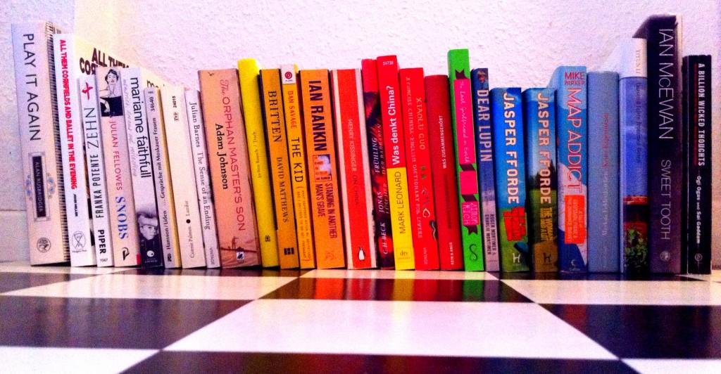 Lesetoff 2013 - die Bücher, die fehlen, waren Leihgaben oder sind gerade verliehen.