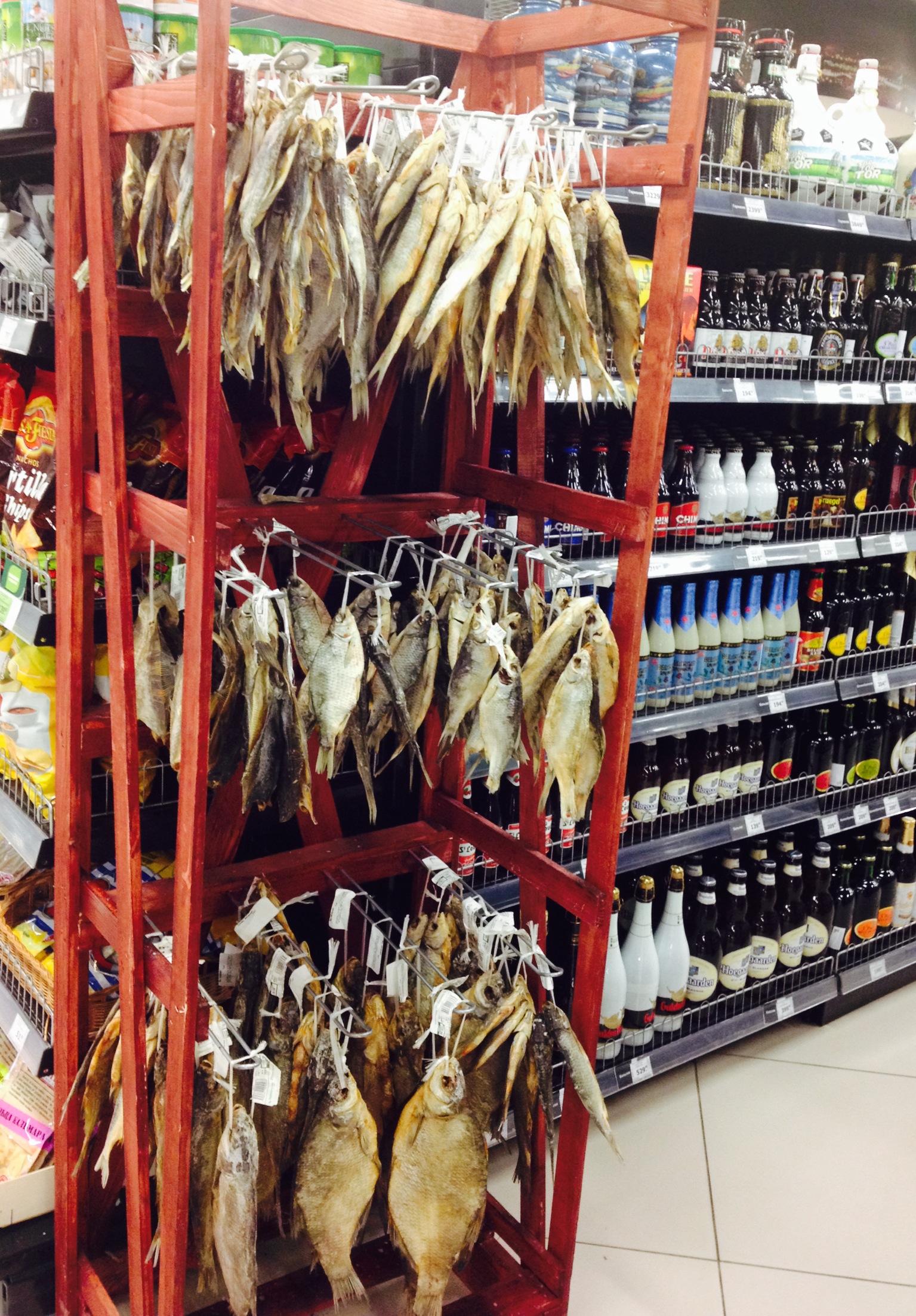 Wer keinen abgepackten Trockenfisch will, muss trotzdem nicht verzichten