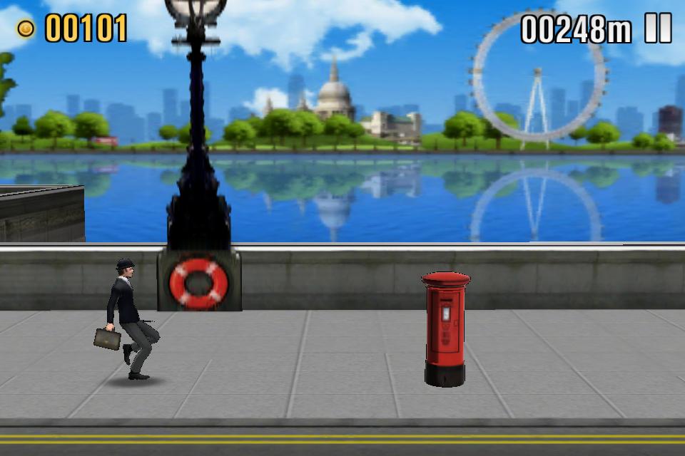 St. Paul's, das London Eye, ein roter Briefkaste - und John Cleese und sein silly walk.