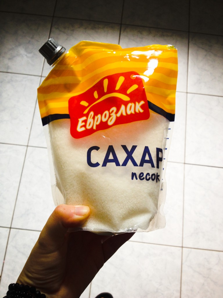 Zucker im Softpack