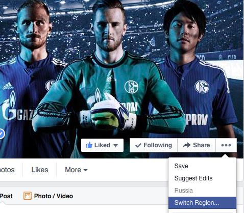 Schalke Facebook