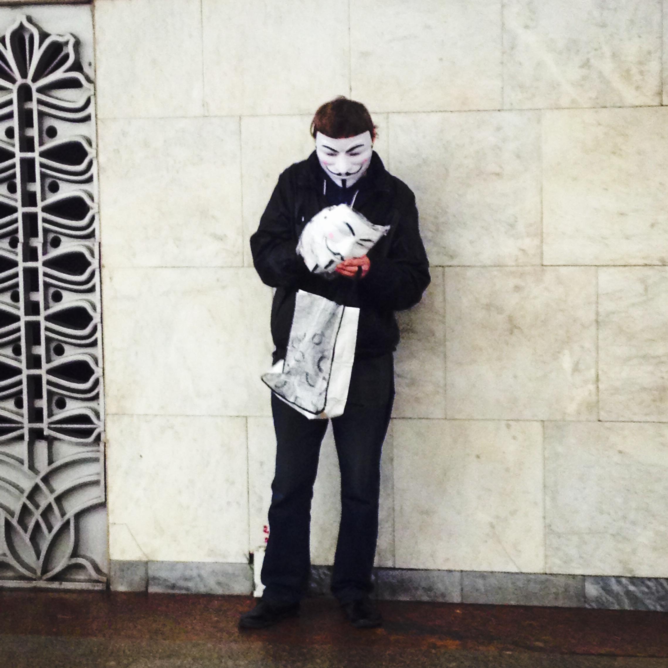 Anonymous Moscow metro