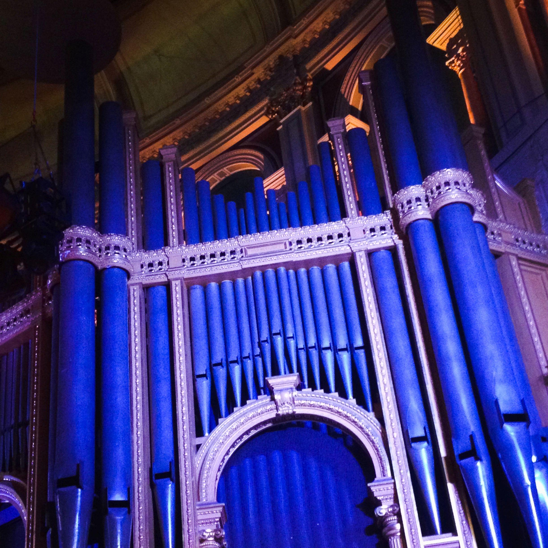 Scratch Messiah RAH 2014 Organ