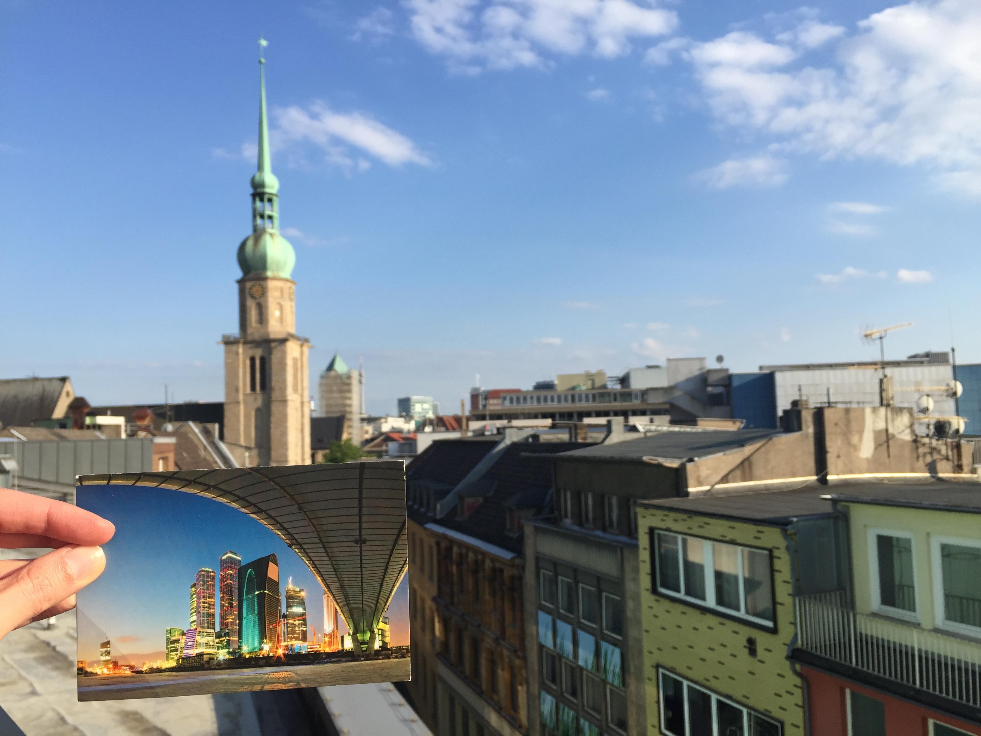 Moskau und Dortmund - eine Skyline schöner als die andere
