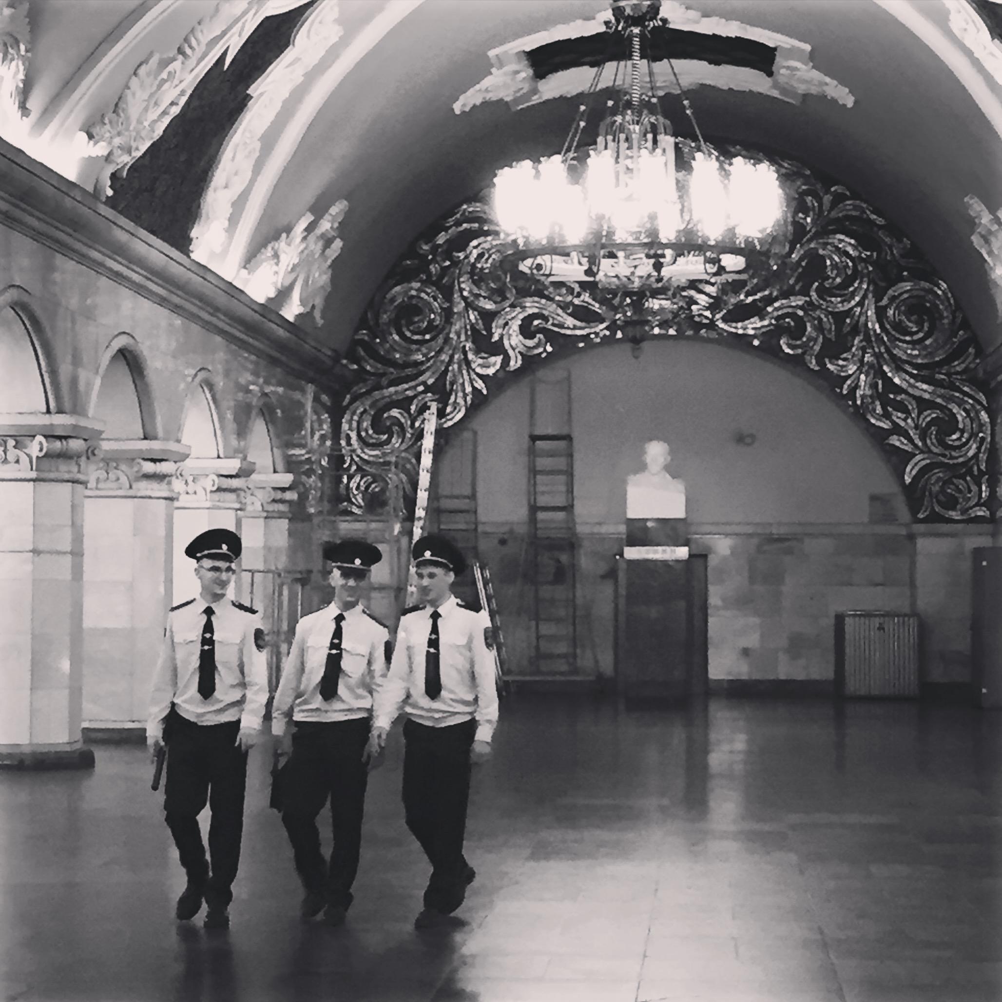 MOskau Metro Komsomolskaja