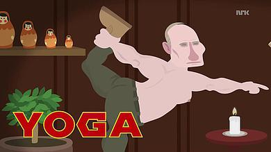 putin der woche yoga