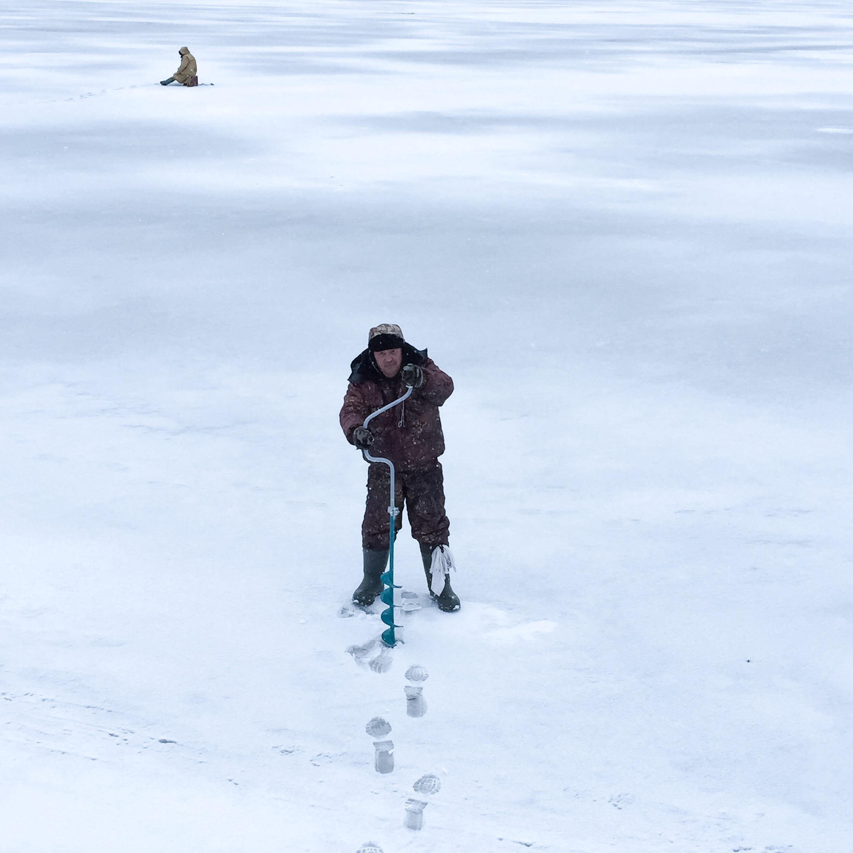 Kasan Russland Eisfischer 5