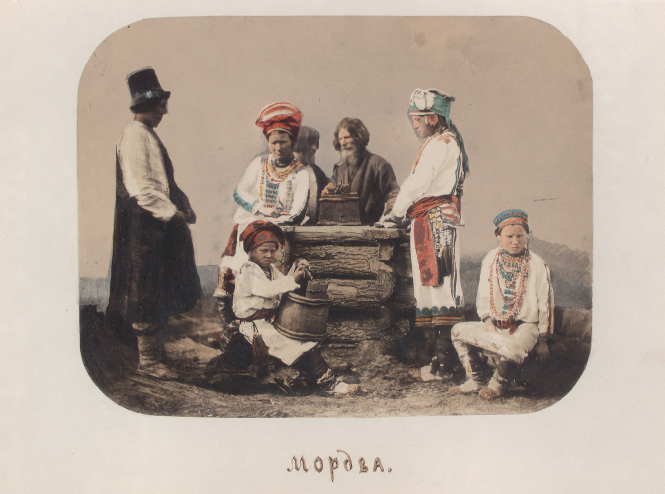 Bevölkerung Pensa Russland 1862 NYPL 10