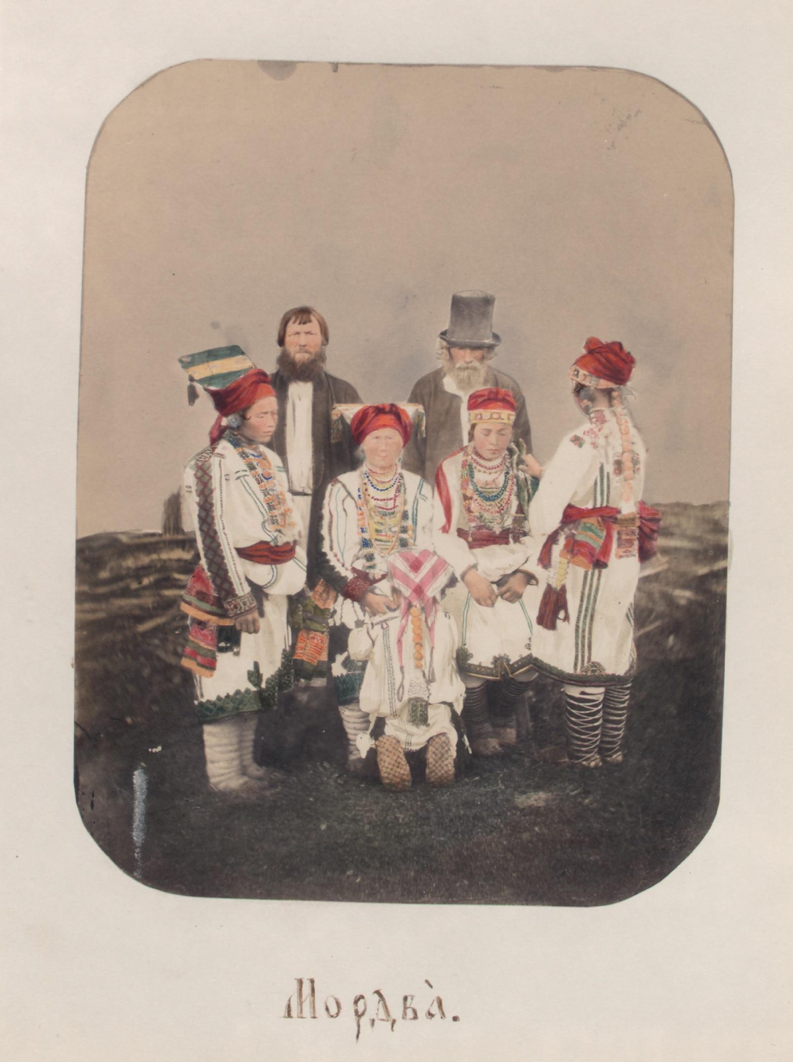 Bevölkerung Pensa Russland 1862 NYPL 9