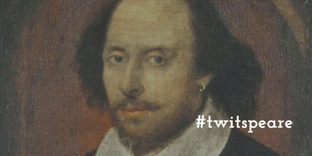 #twitspeare Shakespeare Twitter 2016