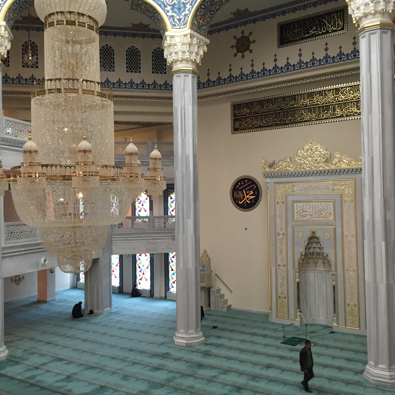 Moskau Moschee Hauptraum