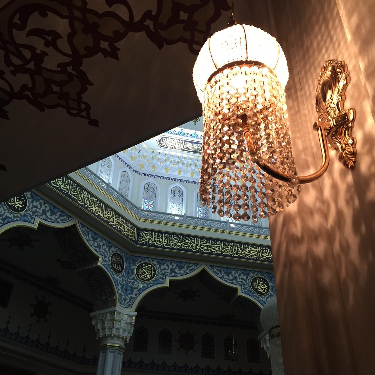 Moskau Moschee Licht