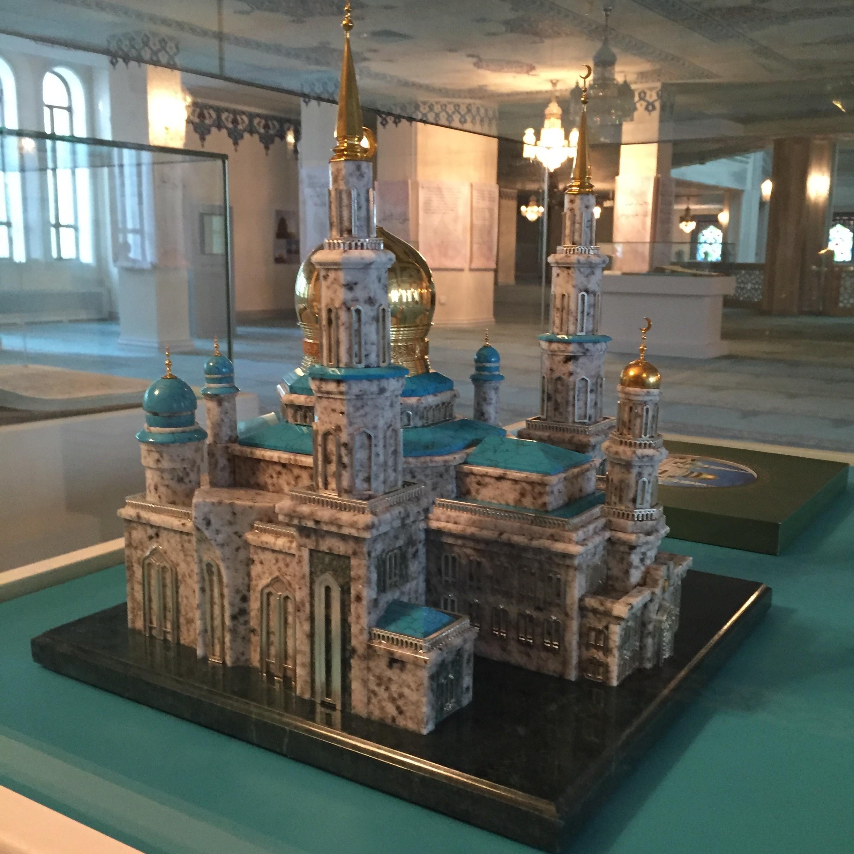 Moskau Moschee Modell