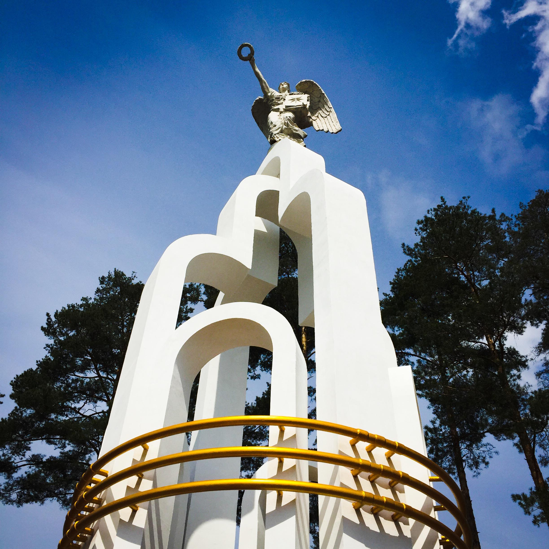 Slawutytsch Denkmal Engel