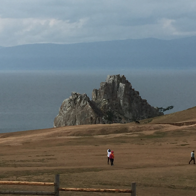 Baikalsee Schamanenfelsen