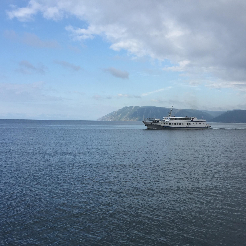 Baikalsee Schiff