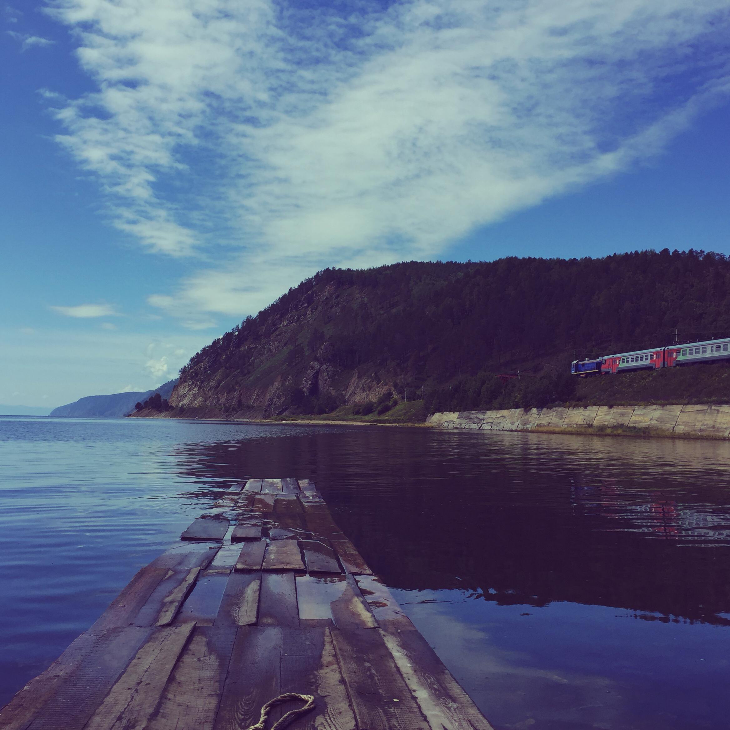 Baikalsee Steg