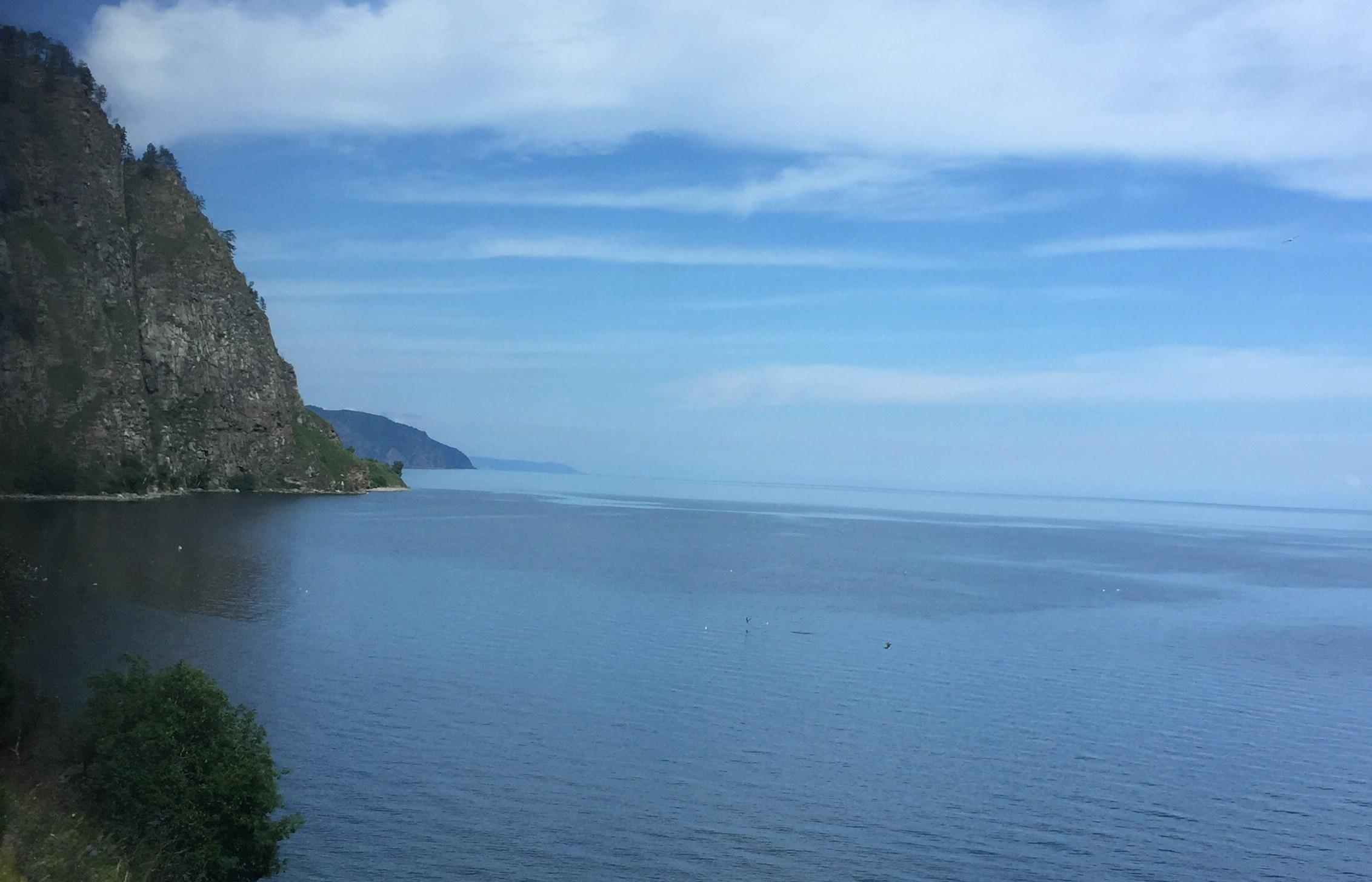 Baikalsee Uferbogen
