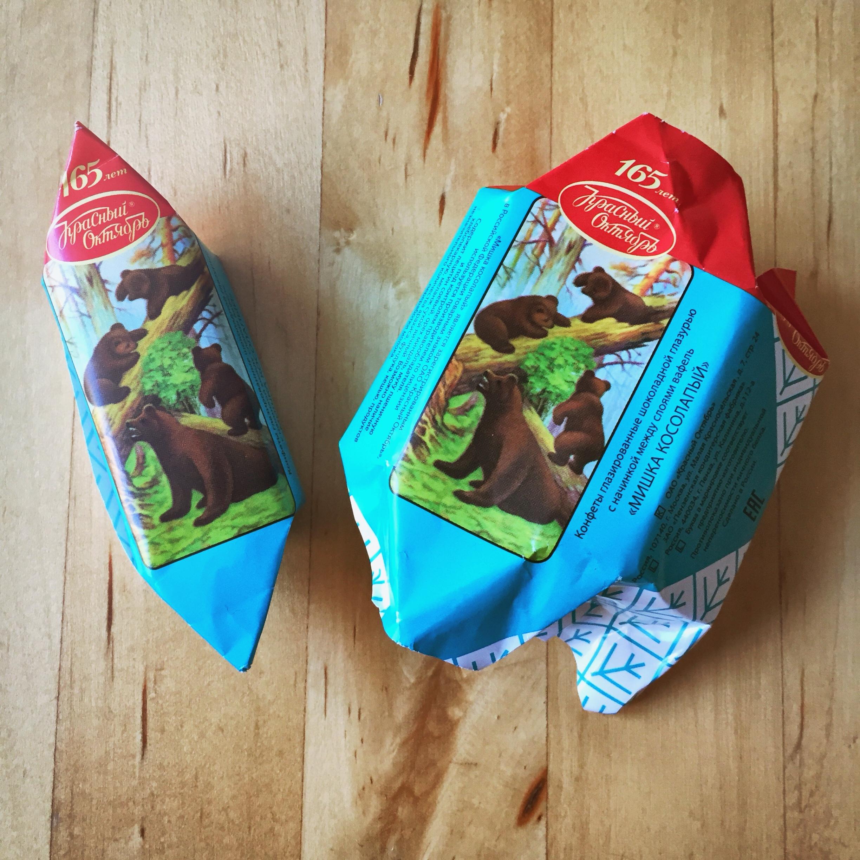 Mischka kosolapi Bonbons