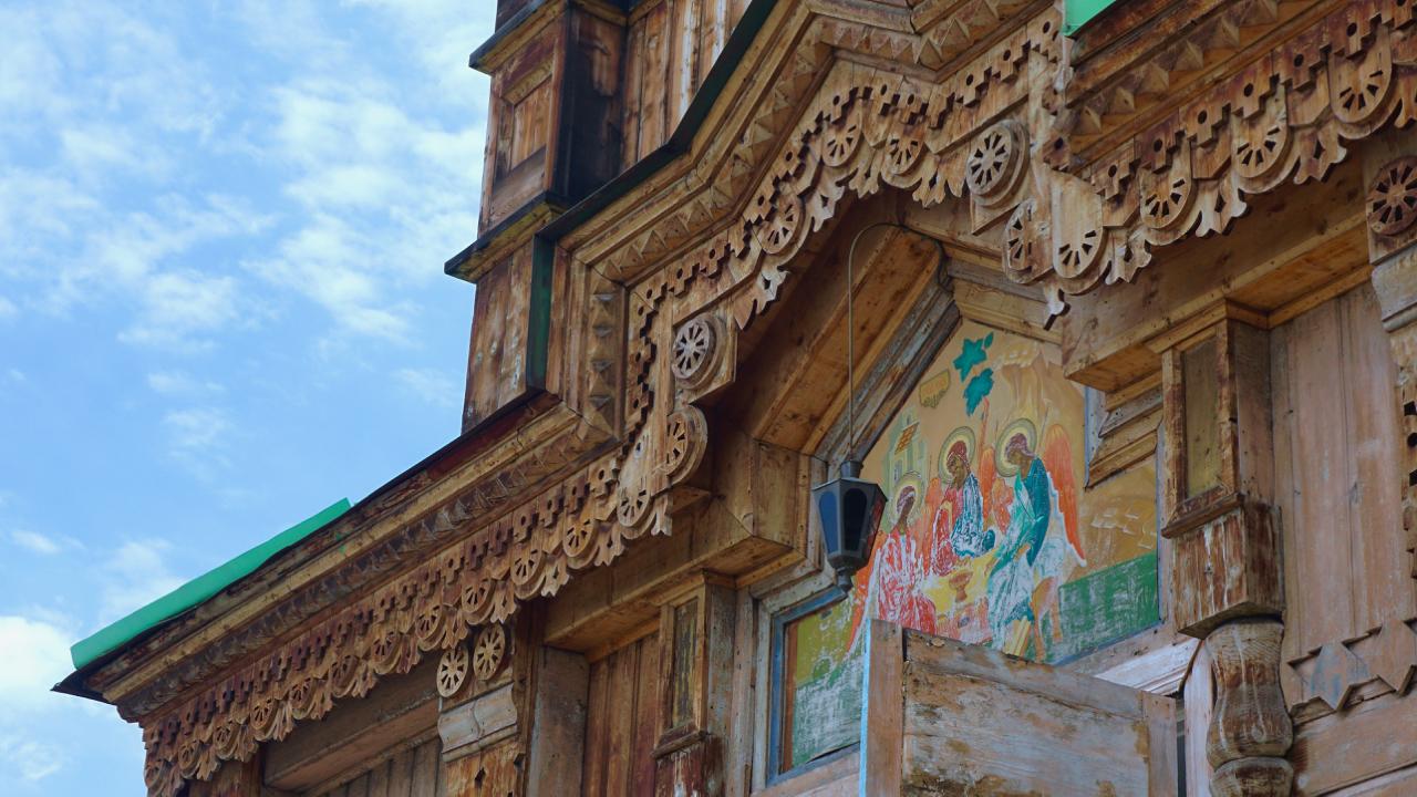 Die russisch-orthodoxe Kirche von Karakol