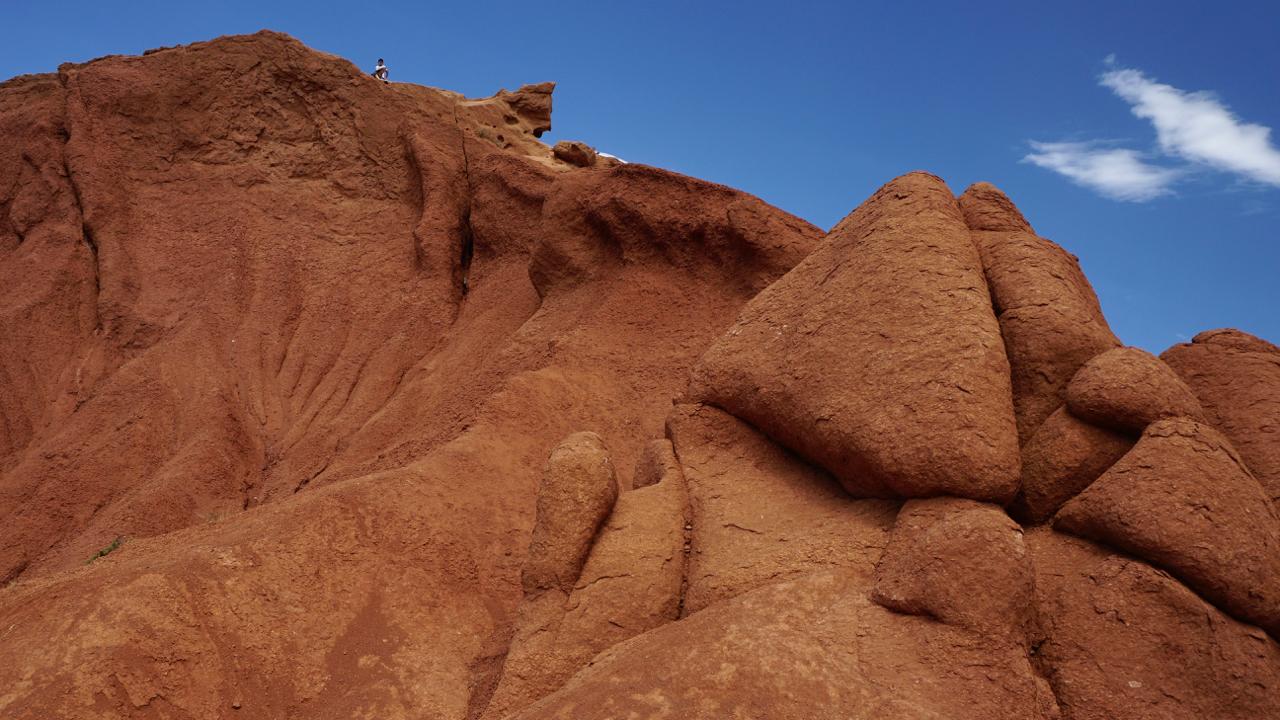 Im Skaska-Canyon sollen die Felsen an Märchenfiguren erinnern