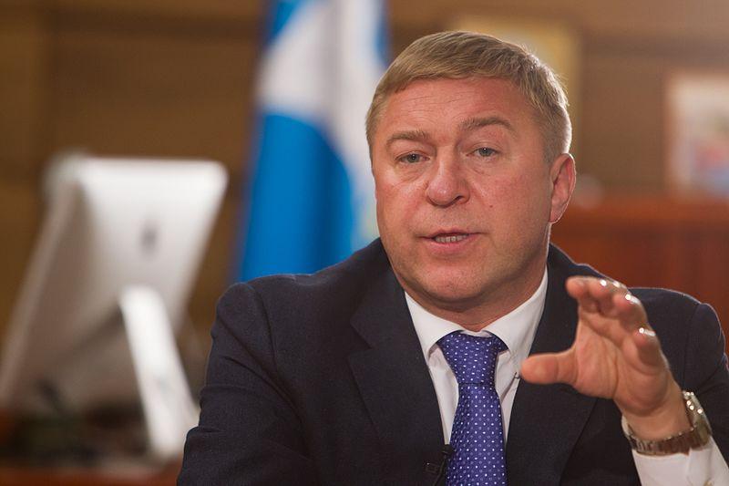 Kaliningrads Bürgermeister Alexander Jaroschuk