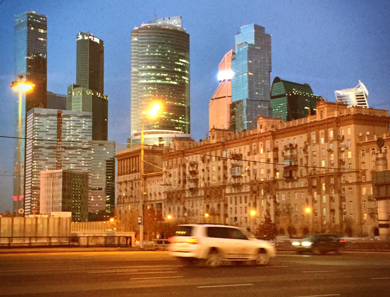 Ein Jahr in Moskau bleibt noch, und gelegentlich setzt schon die Verklärung ein