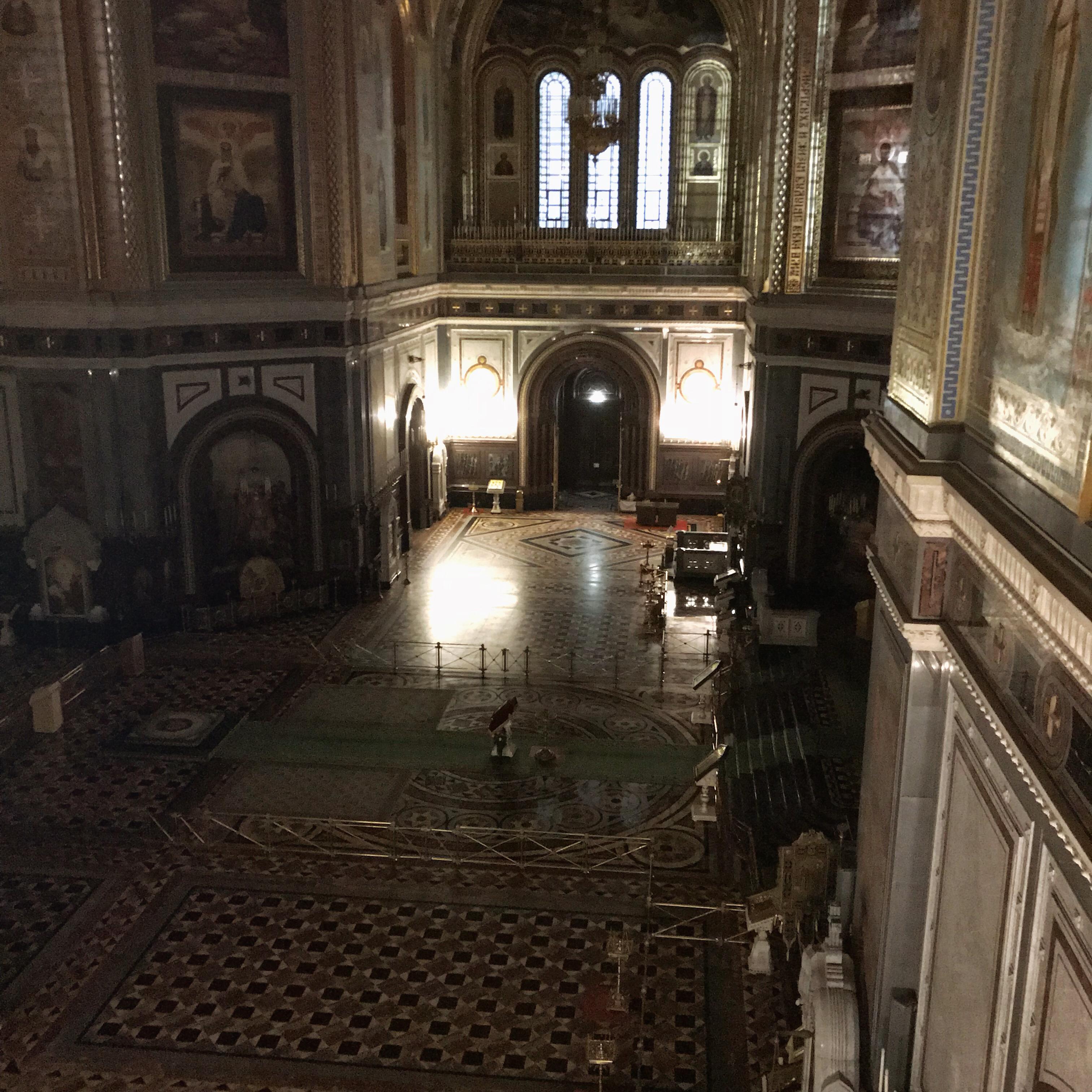Der Blick in den Innenraum der Kathedrale