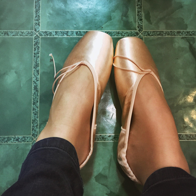 Grishko Schuhe anprobieren