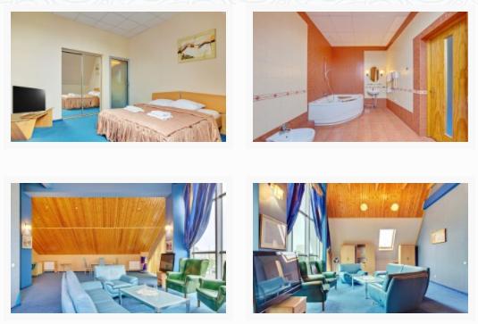 """Das Hotel """"Agora"""" in Kalinigrad steht an der Spitze der schwarzen Liste"""