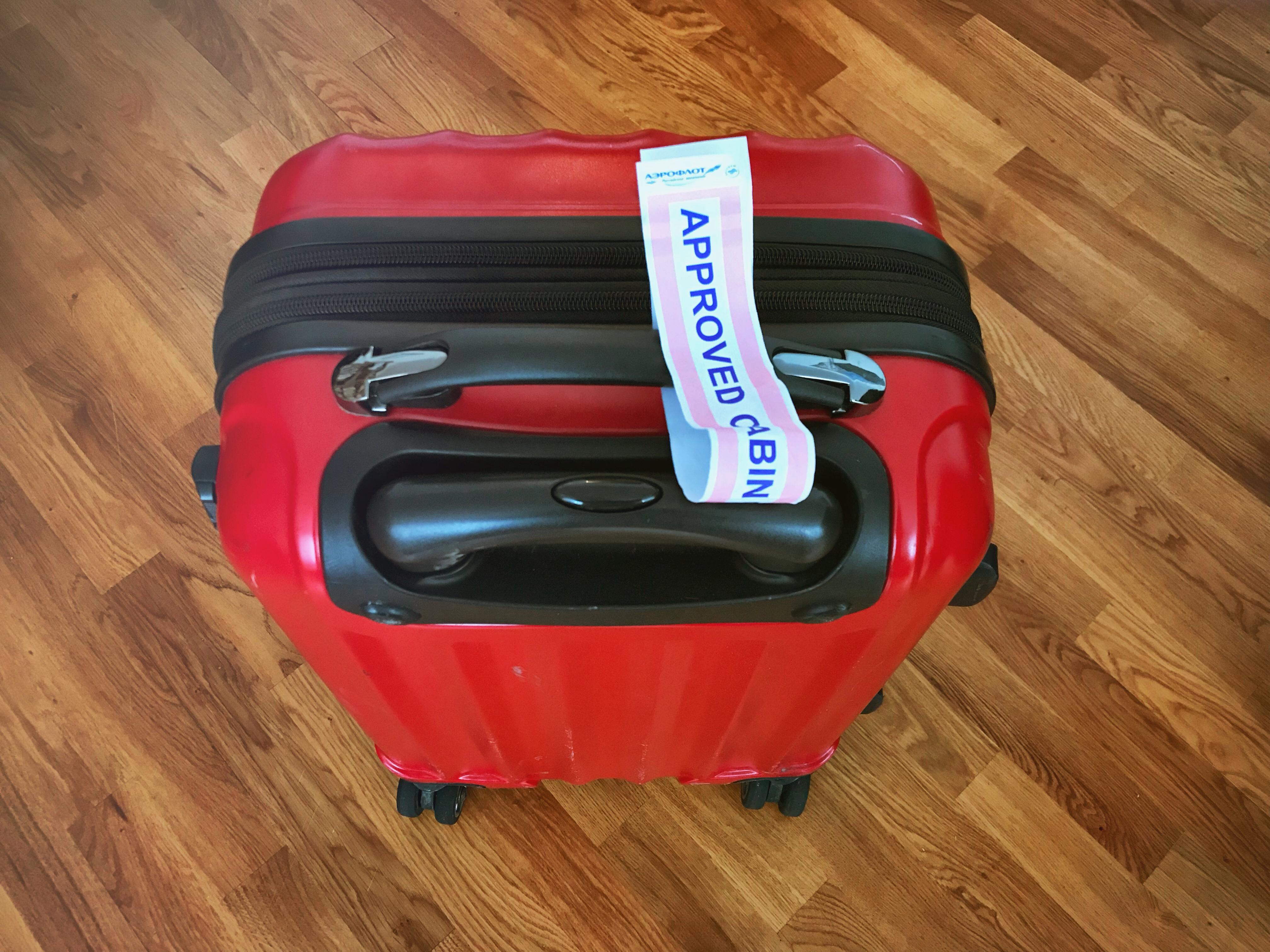 kscheib aeroflot handgepäck
