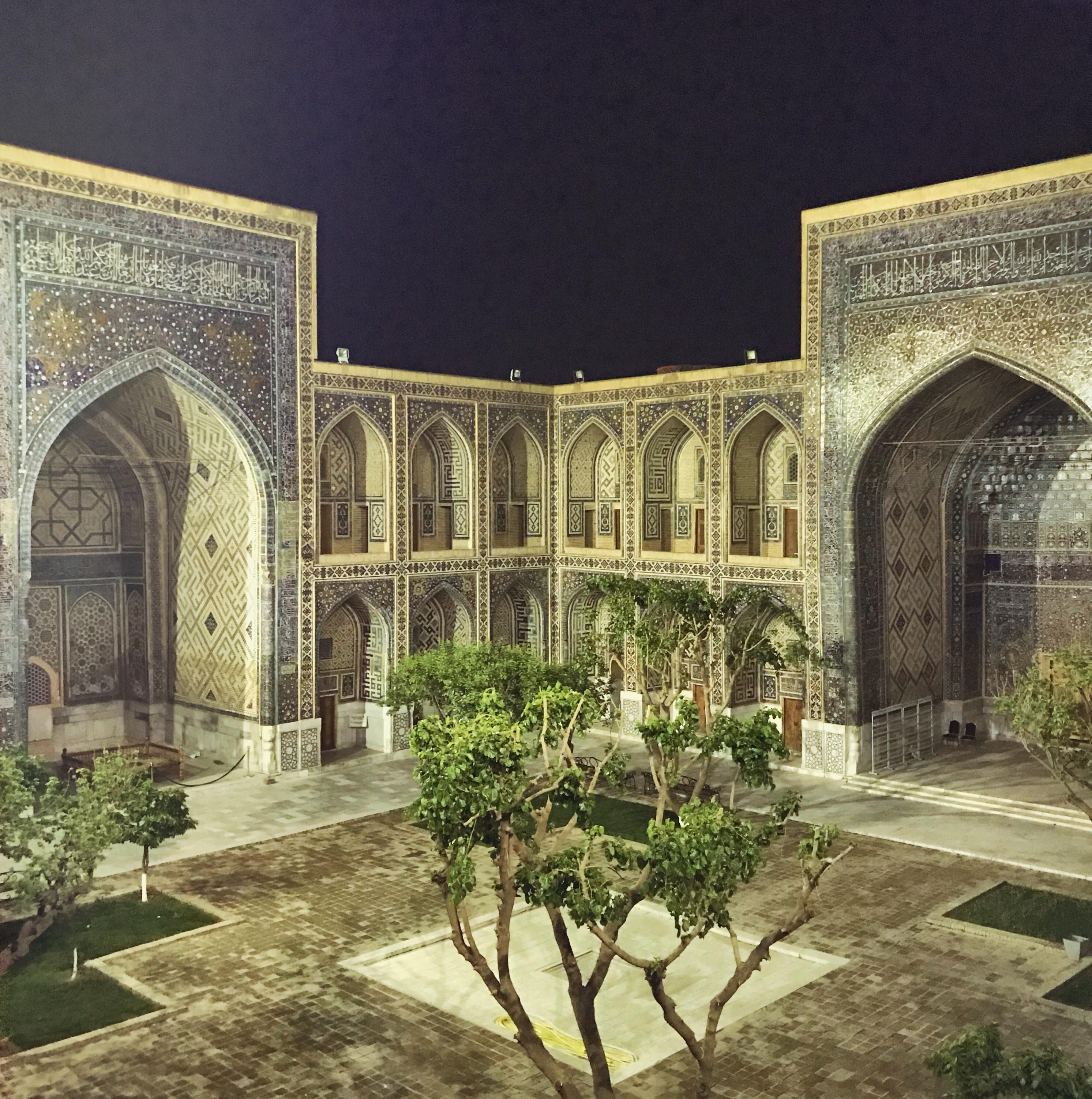 Usbekistan Samarkand kscheib Ulugbek-Madrasa