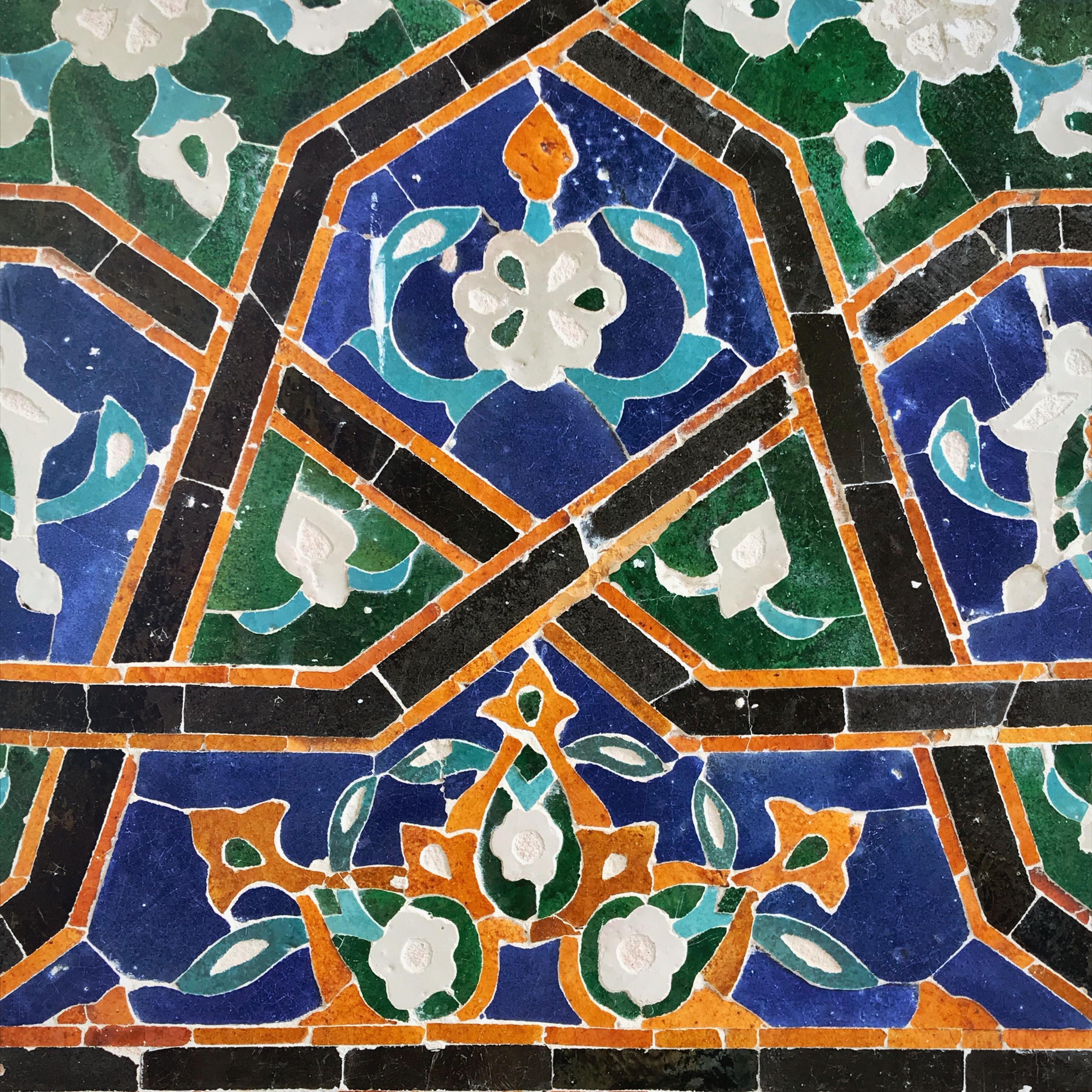 Usbekistan kscheib Kachel 15
