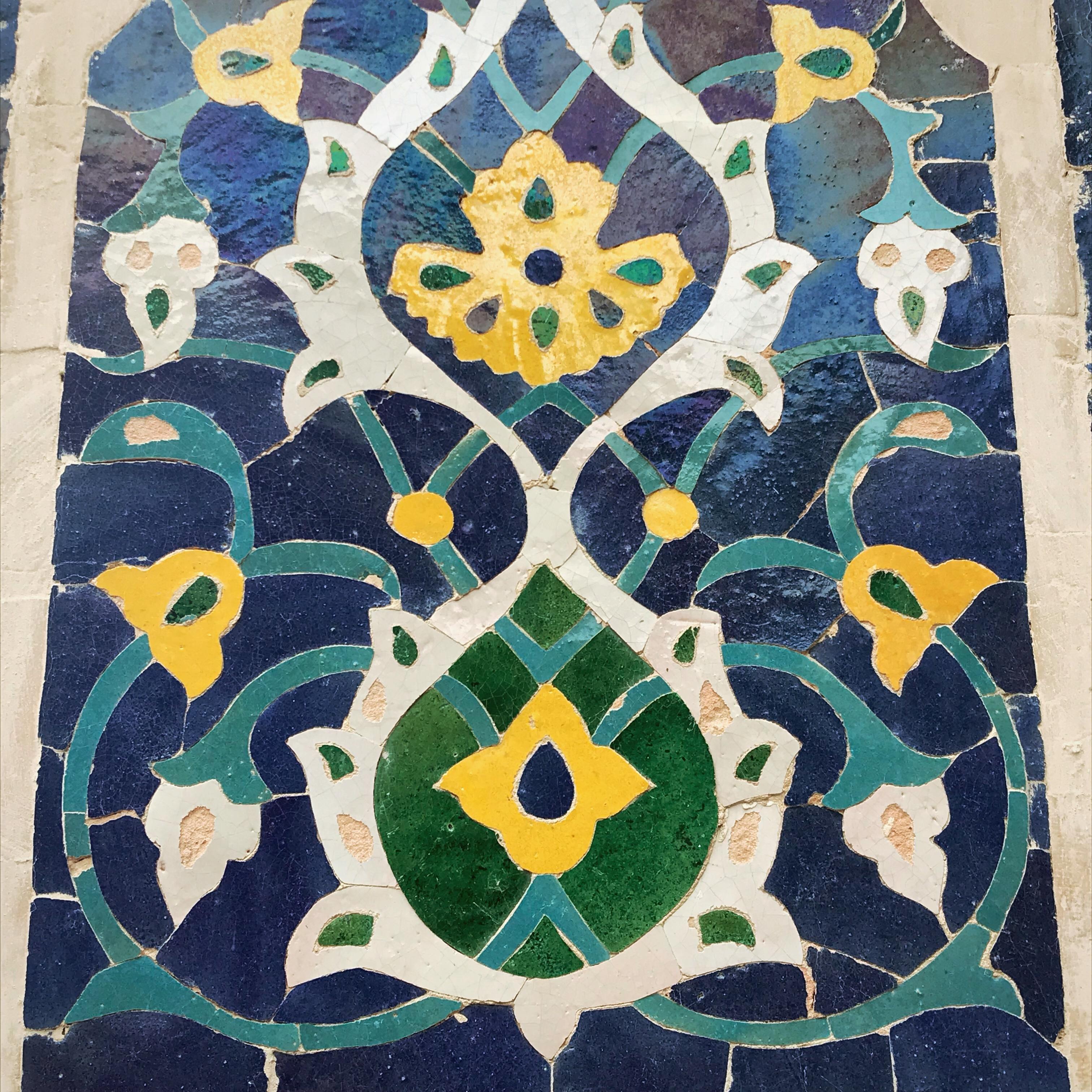 Usbekistan kscheib Kachel 16