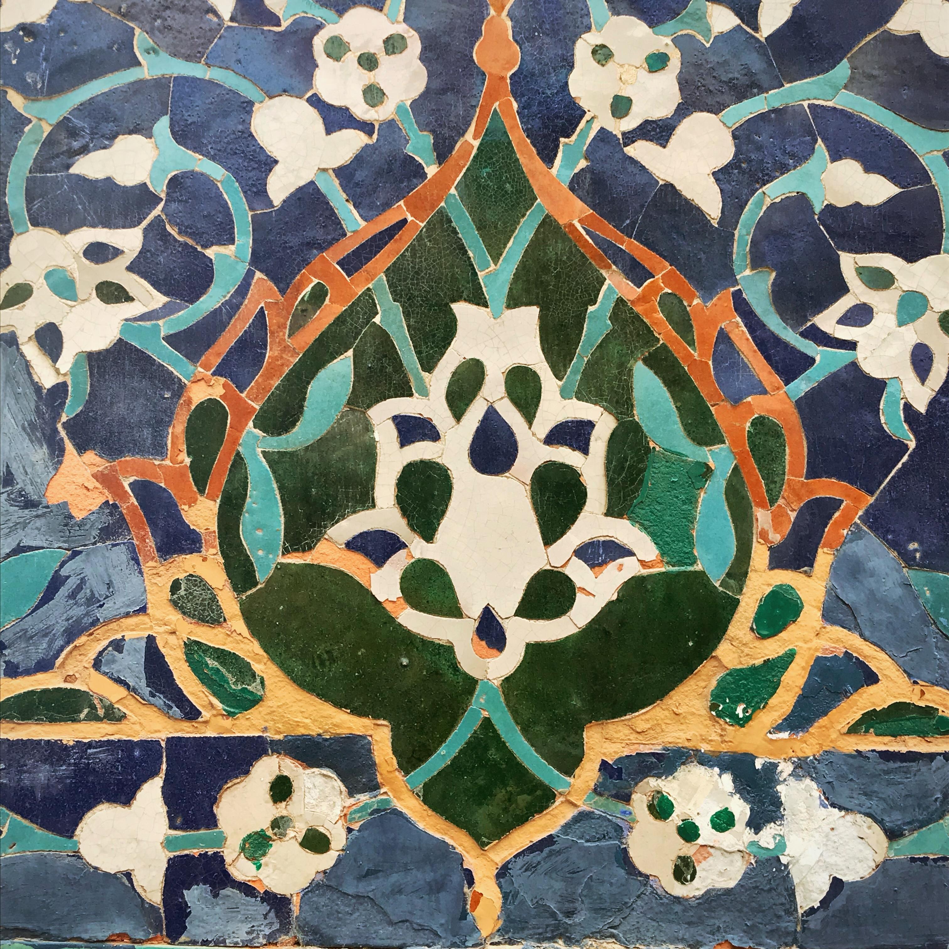 Usbekistan kscheib Kachel 17