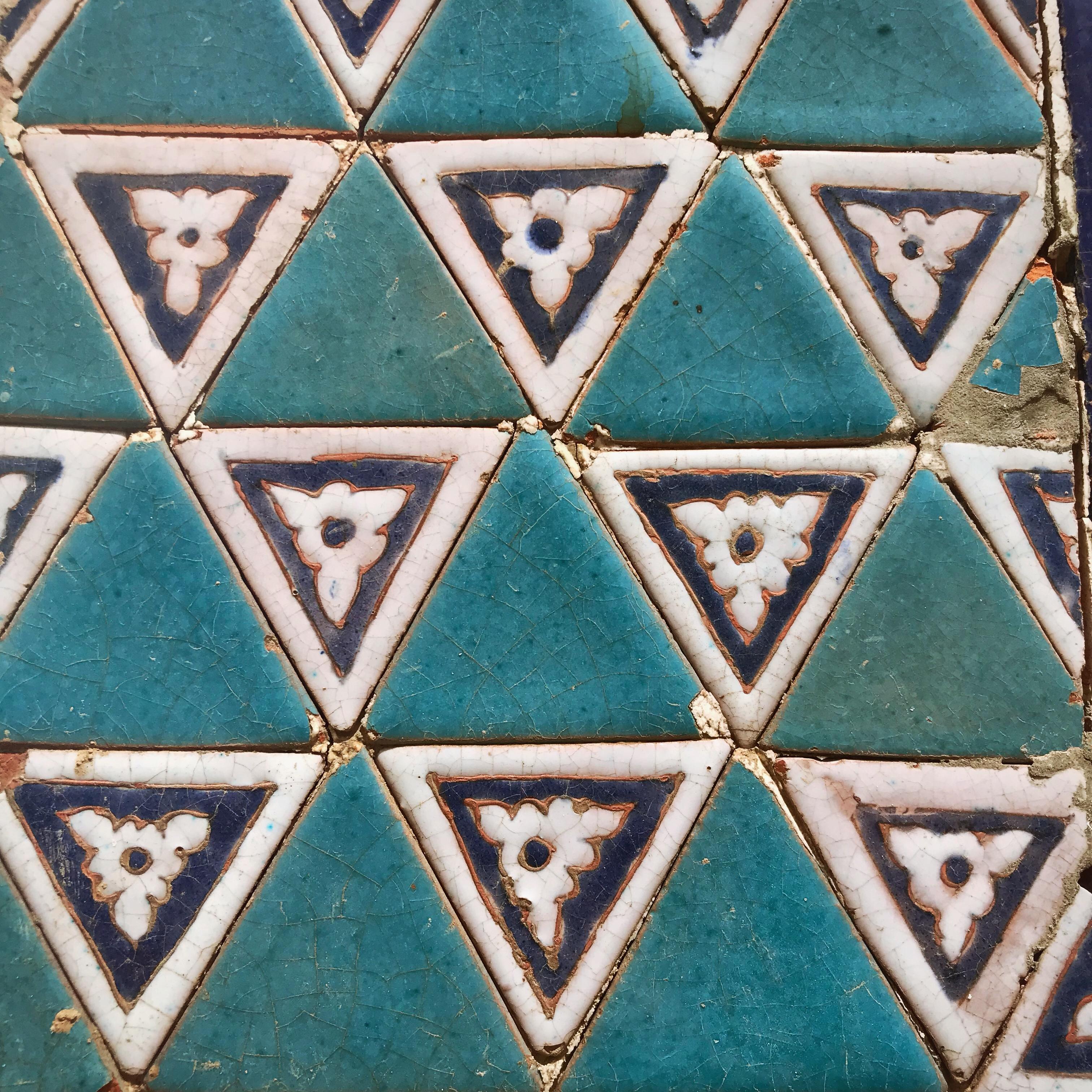 Usbekistan kscheib Kachel 9