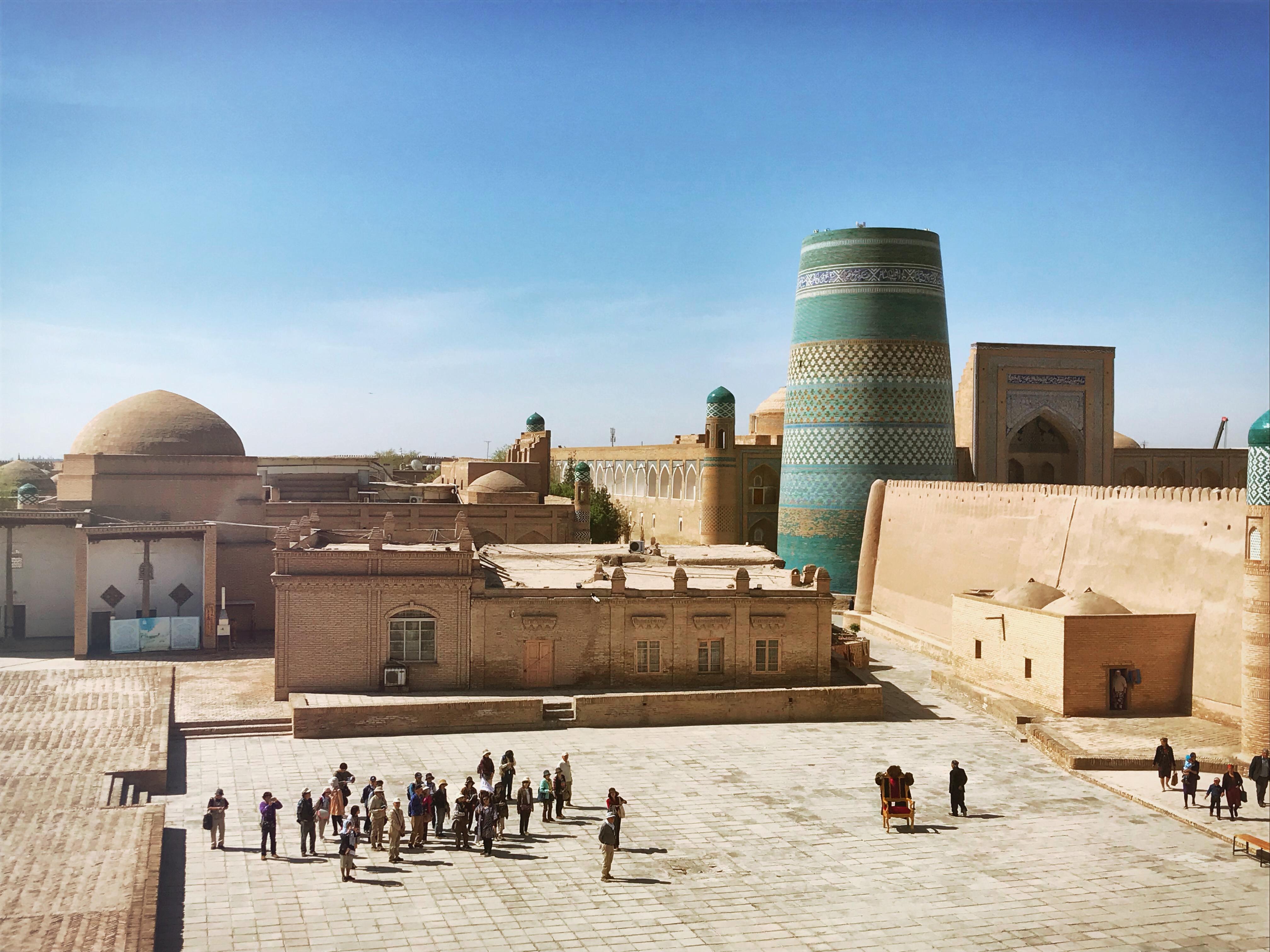 Usbekistand kscheib Khiwa