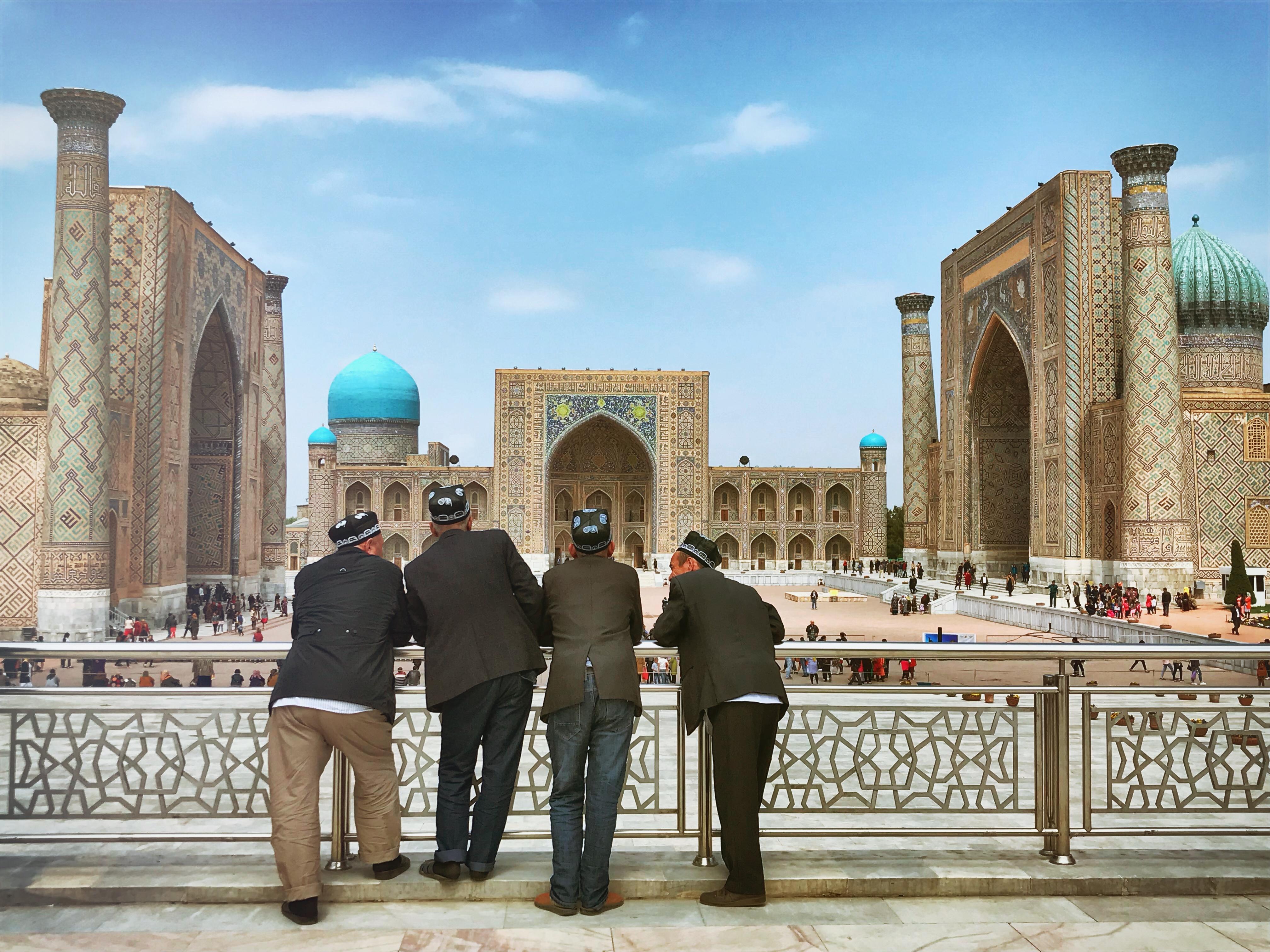 Usbekistand kscheib Registan Samarkand