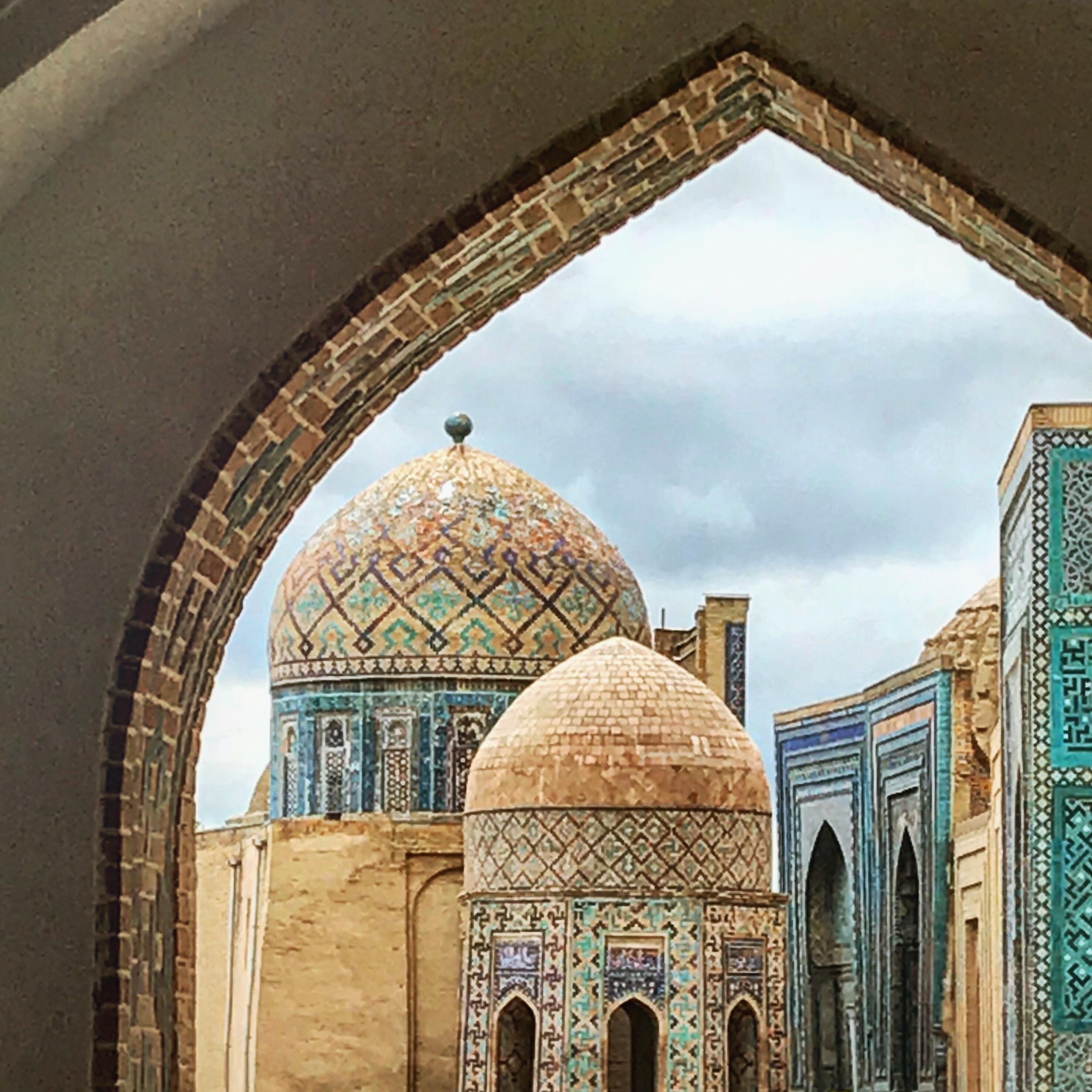 Usbekistand kscheib Shohizinda Samarkand