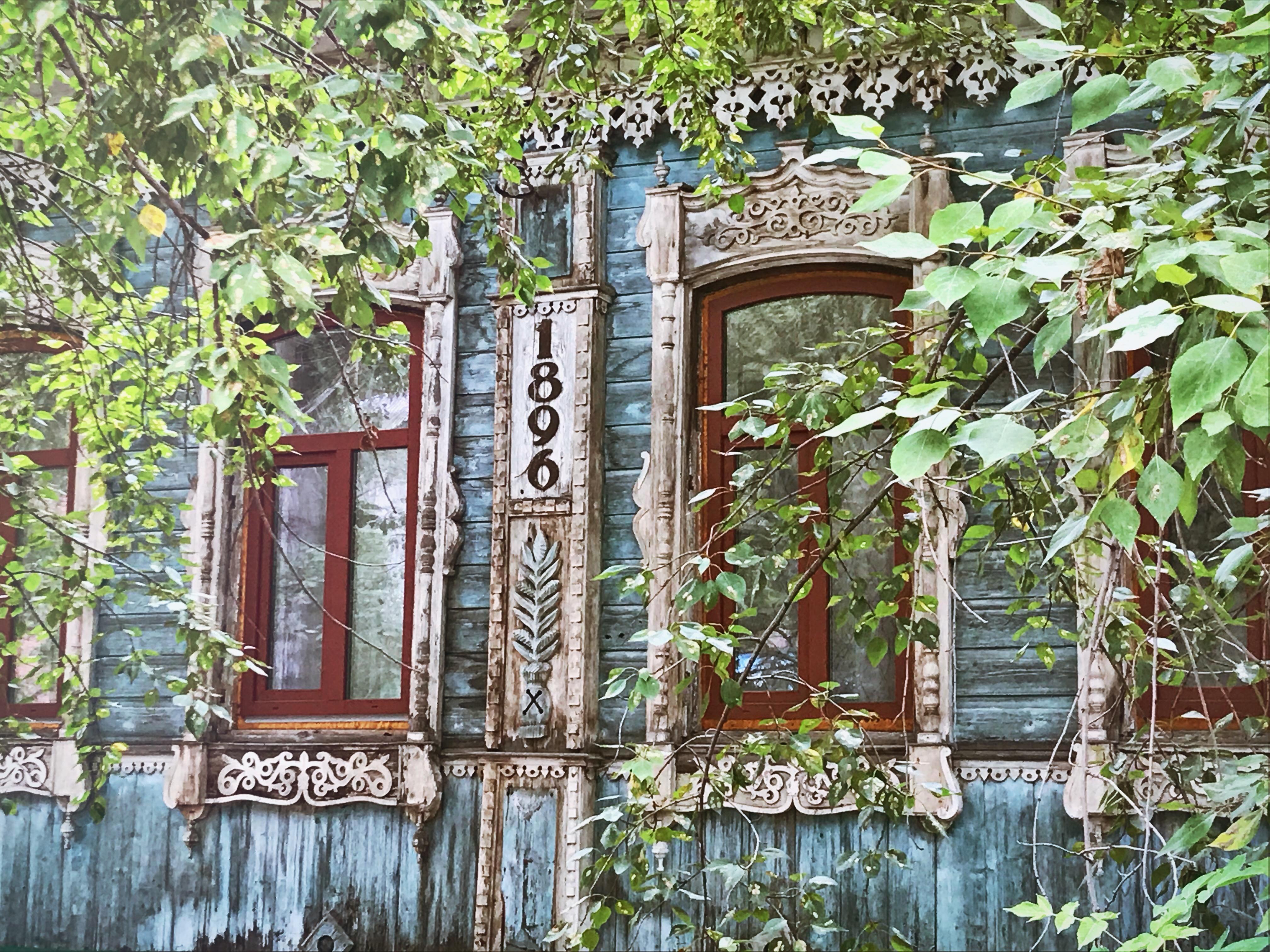 tomsk holzhaus sommer sibirien kscheib
