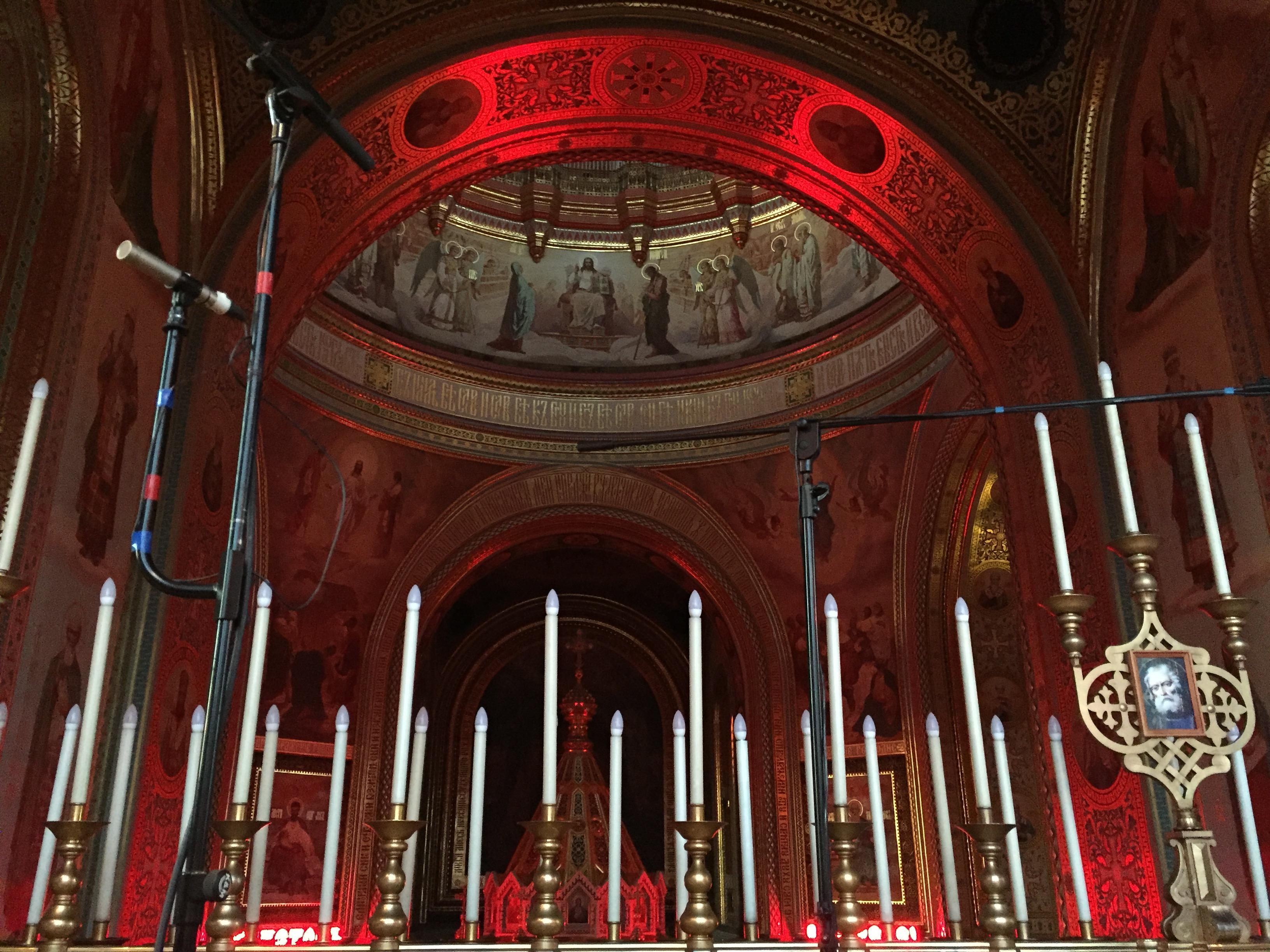 Christ-Erlöser-Kathedrale Decke