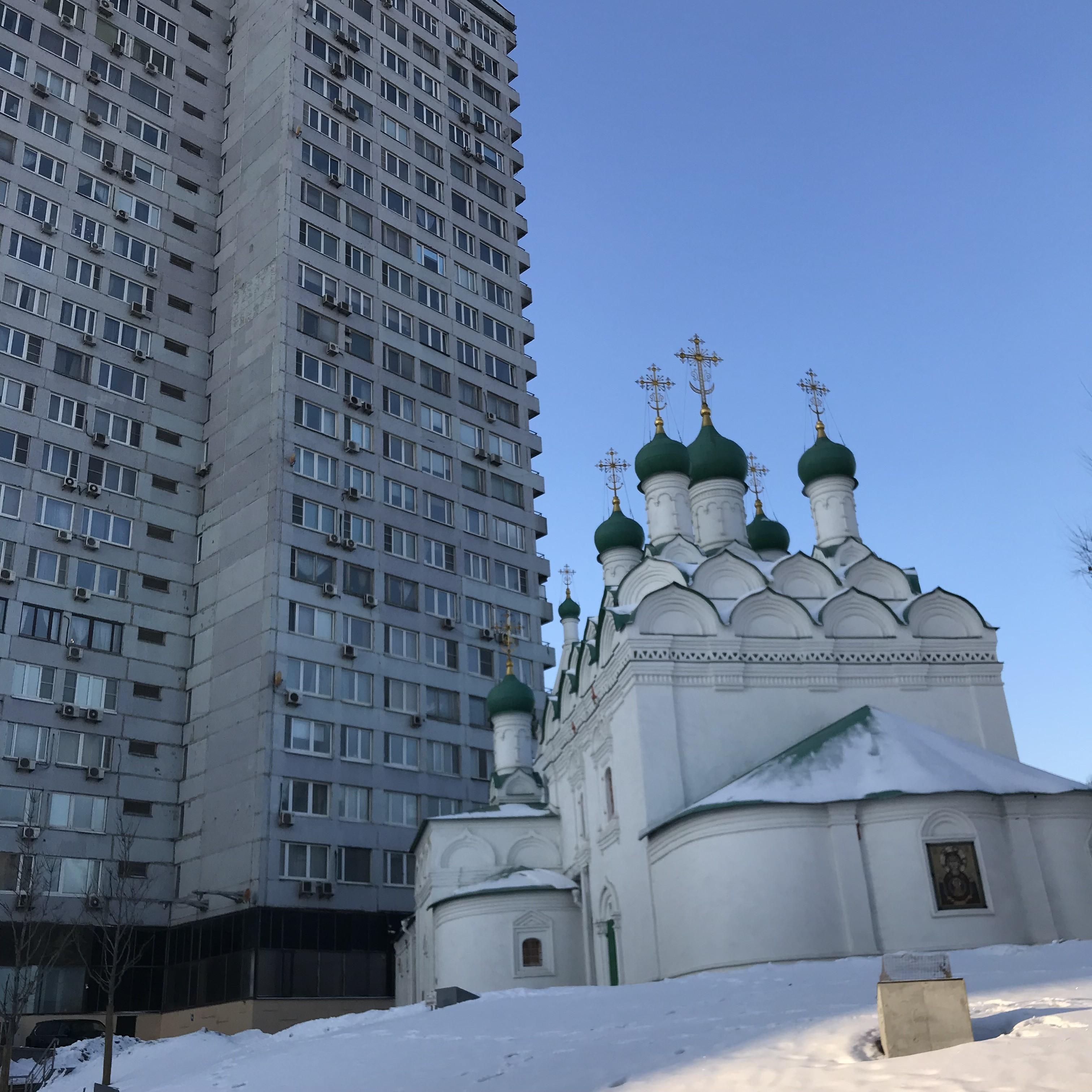 Gogols Kirche am Kutu