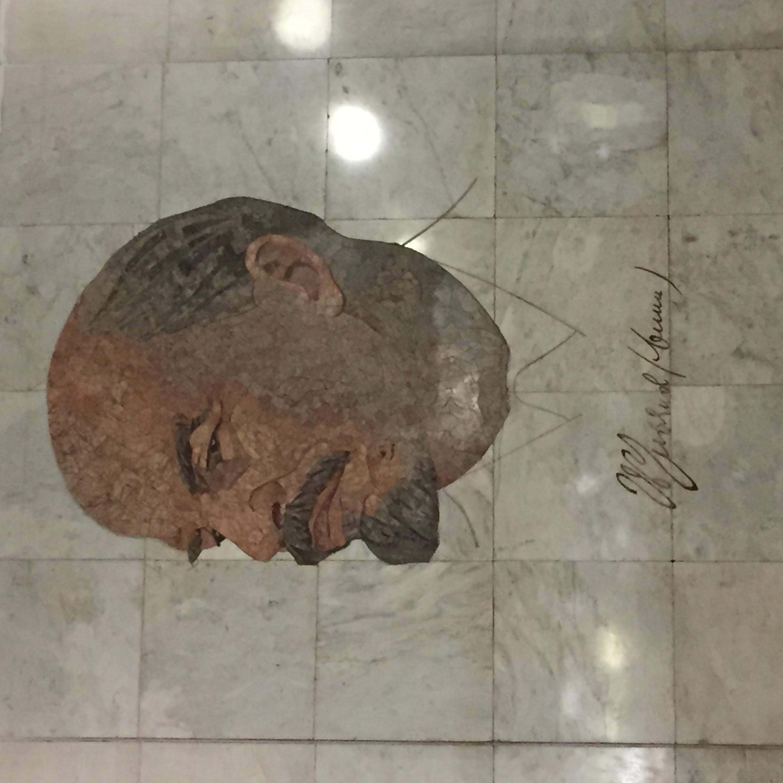 Lenin in der Metro