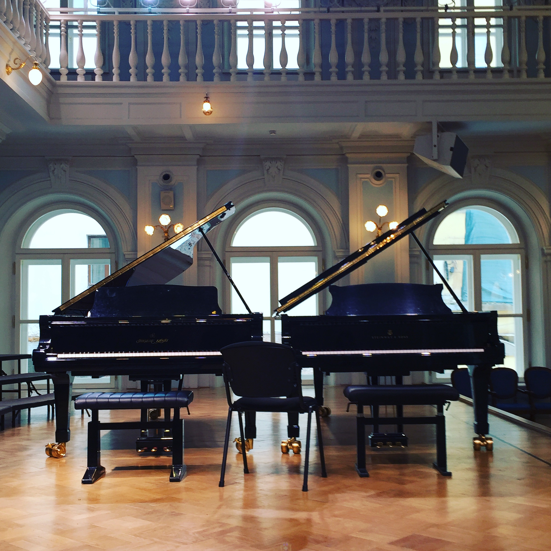 Rachmaninowsaal im Konservatorium