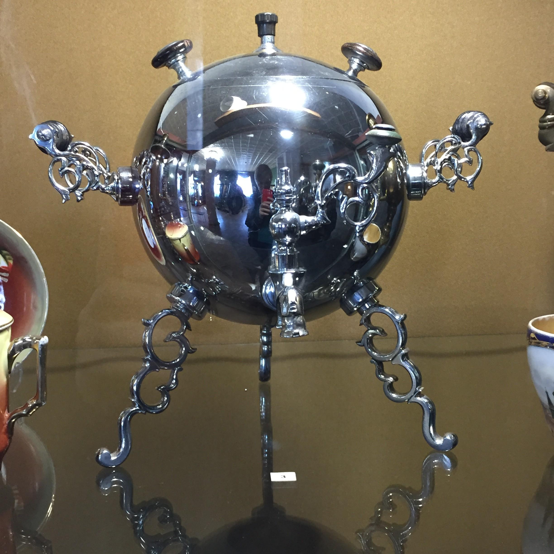 Tula Samowar in Sputnik-Form