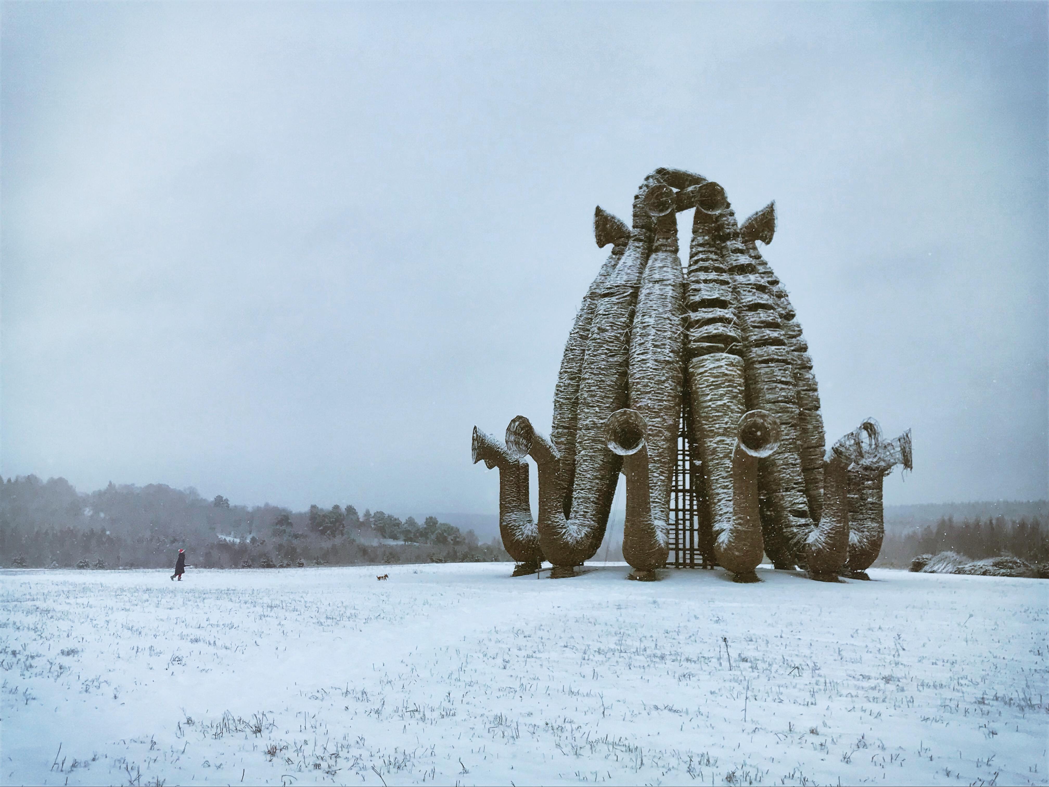 nikola leniwets russland skulpturen Beaubourg bobur hund